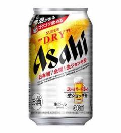 "Thumbnail of ""レア!品薄!送料無料!アサヒ生ビール缶340ml×24"""