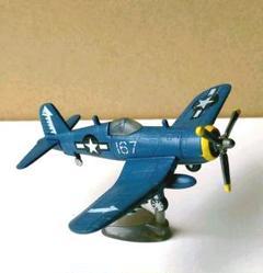 "Thumbnail of ""543★チョコエッグ 世界の戦闘機3-53 F4U-1D コルセア"""