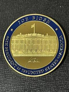 """Thumbnail of """"(f-28)外国金貨 アメリカ 大統領記念金貨 ホワイトハウス金貨記念メダル"""""""