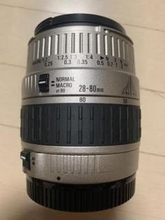 "Thumbnail of ""SIGMA 28-80mm f3.5-5.6 Ⅱ MACRO canon用"""