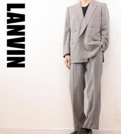 "Thumbnail of ""A6135 LANVIN ダブル セットアップ スーツ グレー"""