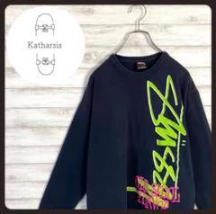 "Thumbnail of ""【入手困難】ステューシー ネイビー プリントロゴ Tシャツ ロンT"""
