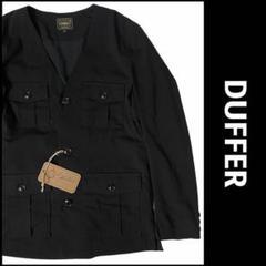 """Thumbnail of """"【定価3万】日本製 DUFFER JAPAN ノーカラージャケット 黒 M"""""""