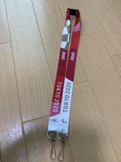 "Thumbnail of ""オリンピック 2020 ストラップ 非売品 レア"""