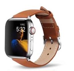 "Thumbnail of ""【新品】ブラウン アップルウォッチバンド 高級レザーベルト 本革 Apple"""