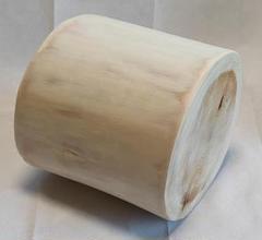 "Thumbnail of ""静岡県伊豆産 天然ヒノキ丸太椅子(直径25cm高さ23cm)"""
