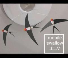 "Thumbnail of ""¥1500→¥1350 swallow3 モビール ツバメ"""