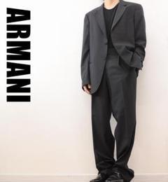 "Thumbnail of ""A6133 ARMANI セットアップ スーツ グレー 52"""
