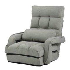 """Thumbnail of """"座椅子 リクライニング 14段ギア リクライニングチェアー ファブリック85"""""""
