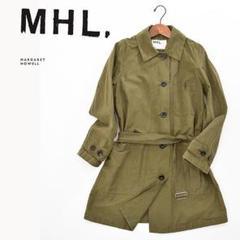 """Thumbnail of """"F7405美品■ MHL.マーガレット ハウエル■ワンウォッシュミリタリーコート"""""""