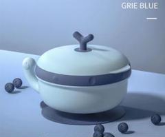 """Thumbnail of """"吸盤付きベビー食器 保温保冷 ブルー blue"""""""