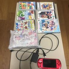 """Thumbnail of """"PSP本体・ソフト ぷよぷよ、うたプリ、とらドラ、ロックマン含む10本"""""""