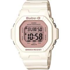 カシオ BABY-G スポーティデザイン 腕時計 アイボリー