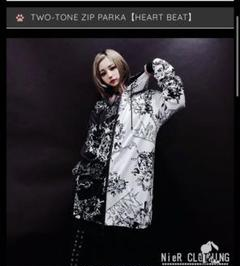 "Thumbnail of ""TWO-TONE ZIP PARKA【HEART BEAT】NieR"""