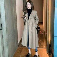 "Thumbnail of ""★春先の新モデル小柄なロングコートの女s-1xl★"""