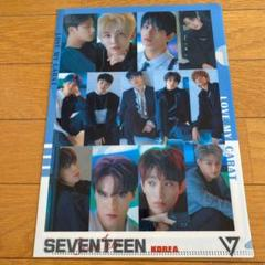 """Thumbnail of """"SEVENTEEN クリアファイル"""""""