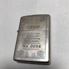 "Thumbnail of ""zippo ジッポー シリアルNO 0006"""