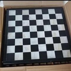 """Thumbnail of """"☆大理石駒 ガラスのチェスボード"""""""