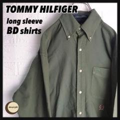 "Thumbnail of ""TOMMY HILFIGER 長袖ボタンダウンシャツ 無地 トミーヒルフィガー"""