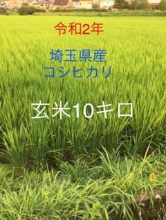 "Thumbnail of ""【埼玉県産】コシヒカリ玄米 10キロ"""