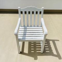 """Thumbnail of """"肘掛け椅子 椅子 チェア ウッドチェア ガーデンチェア アウトドア アンティーク"""""""