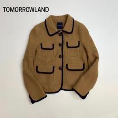 "Thumbnail of ""トゥモローランド★ ショート コート パイピング キャメル L274"""