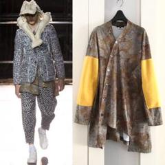 """Thumbnail of """"美品 COMME des GARCONS 総柄 変形ロングカーディガン 81"""""""