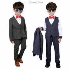 "Thumbnail of ""即購入大歓迎送料無料 イギリス風 スーツ 子供 男の子スーツ キッズスーツ 0"""