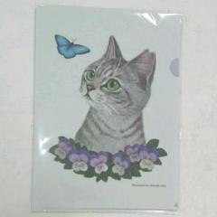 """Thumbnail of """"霜田有沙 猫クリアファイル"""""""
