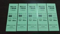 "Thumbnail of ""イオンファンタジー 株主優待(5000円分)"""