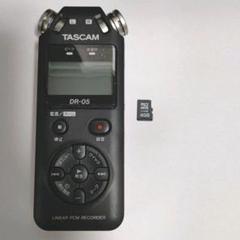 "Thumbnail of ""TASCAM リニアPCMレコーダー DR-05"""
