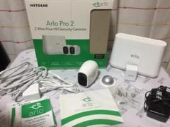 "Thumbnail of ""NETGEAR Arlo Pro 2 ベースステーション、カメラ2台、他付属品"""