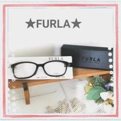 "Thumbnail of ""美品 FURLA フルラ メガネ レディース ブラック"""