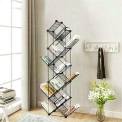 """Thumbnail of """"11層の本棚 金属製の垂直の本棚 小さなスペースの本棚 コンパクトな収納用4"""""""
