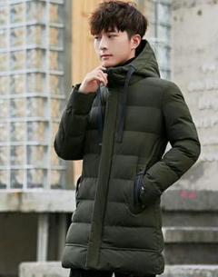"Thumbnail of ""新作 韓国版の潮流 ジャケット 男性の中で長い 厚い綿の服i"""