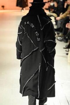 "Thumbnail of ""yohji yamamoto pour homme 20AW つまみ縫いコート"""