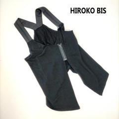 """Thumbnail of """"ヒロコ ビス 9 トップス ブラック 無地 バックジップ エプロン風 レイヤード"""""""