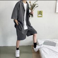 """Thumbnail of """"【新品】韓国 セットアップ   ビッグシルエット シャツジャケット パンツ"""""""