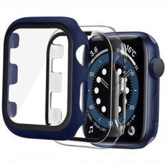 """Thumbnail of """"【2枚セット】Apple Watch ケース38mm ケース(クリア+ブルー)"""""""