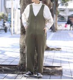 """Thumbnail of """"FREAK'S STORE 別注ジップVネックサロペット"""""""