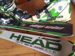 """Thumbnail of """"ヘッド  スーパーシェイプ マグナム 170cm+スキー靴 27.5cm 中古品"""""""