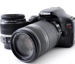美品 Canon Kiss X5 ダブルレンズキット バリアングル