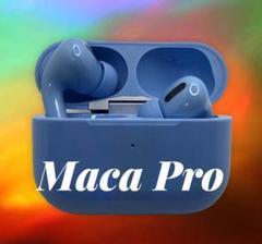 "Thumbnail of ""MaCa pro22 ワイヤレスイヤホン ブルー 大特価"""
