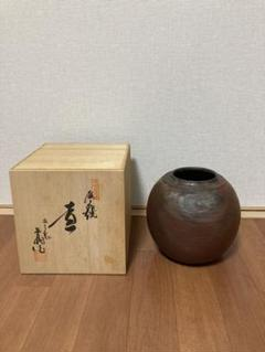 "Thumbnail of ""丹波立杭焼 清水昌義作 ツボ 花瓶"""