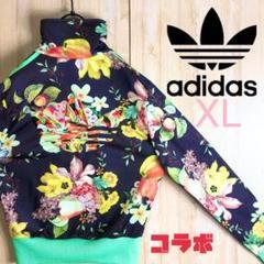 """Thumbnail of """"adidas アディダス ジャージ ブルゾン フローラル 花柄 大きめ 刺繍"""""""