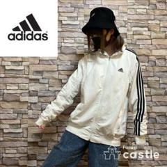 """Thumbnail of """"adidas アディダス トラックジャケット スウェット パーカー ホワイト L"""""""