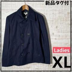 """Thumbnail of """"9070☆ 新品タグ付 ダッフルコート ネイビー XLサイズ"""""""