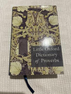 """Thumbnail of """"Little Oxford Dictionary of Proverbs"""""""