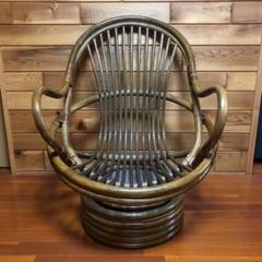 """Thumbnail of """"ラタンのおしゃれで大きなゆったり椅子"""""""