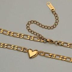 """Thumbnail of """"『品質保証』綺麗な18 Kゴールドのネックレスハート型鎖骨チェーン"""""""